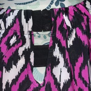 INC International Concepts Tops - I-N-C Petite XL Women's Keyhole Halter Blouse